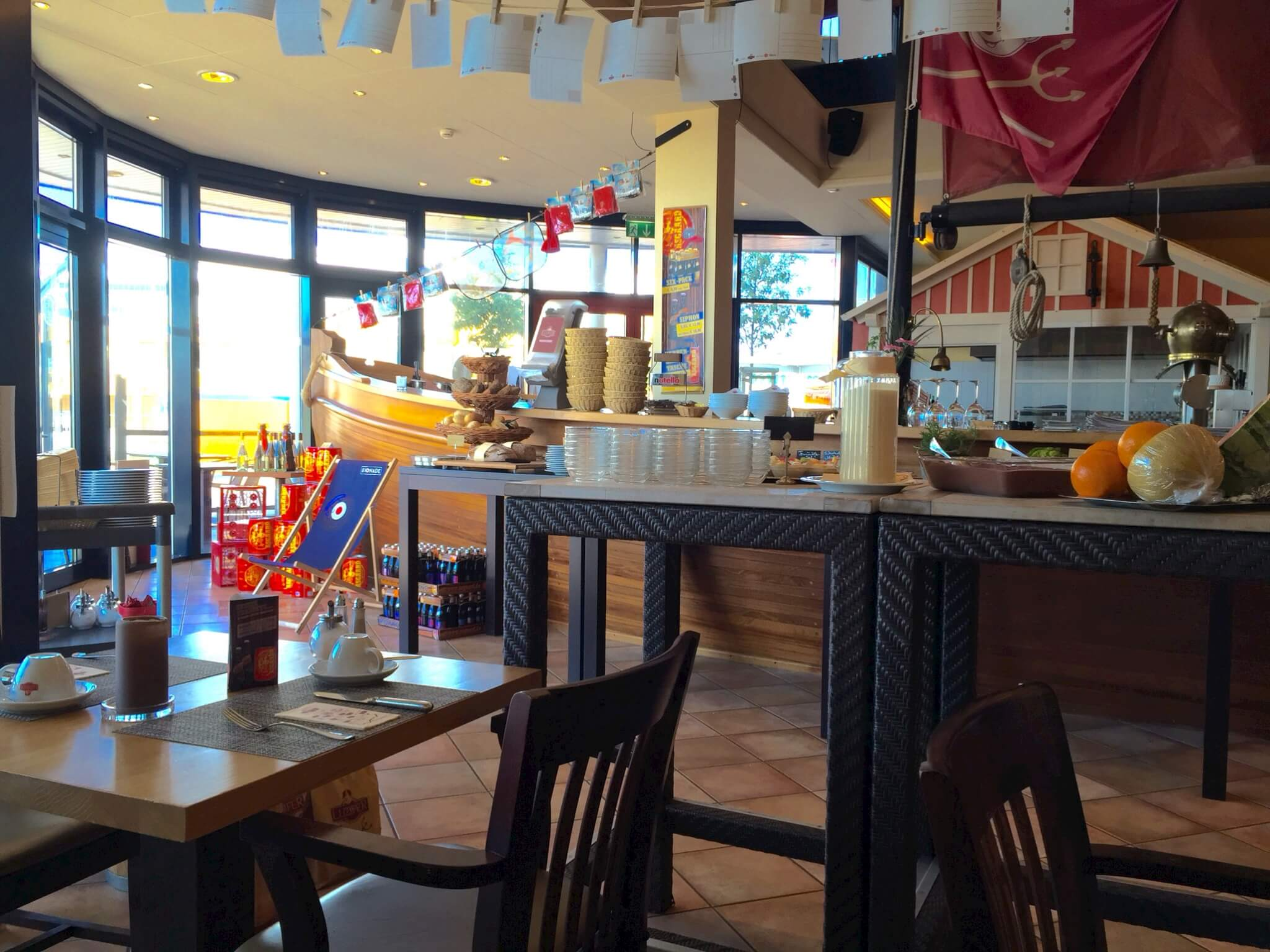 Restaurant Luzifer - Test des Frühstücksbuffet in Büsum